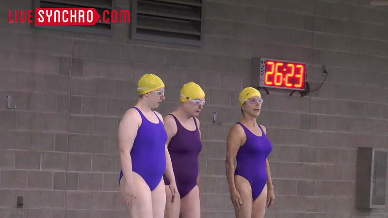 E28 H01 - Sue ATWOOD, Petra INBAR, Adele PETERSON - Ramapo Aquamasters 13tl51tv
