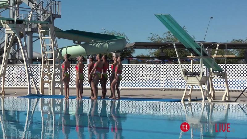 Santa Clara Aquamaids - Team 2014 Routine West Zone Synchro- TAKEITLIVE.TV E15 H01 14tl016
