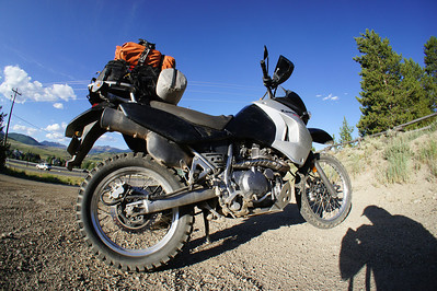 CB to Leadville on the KLR