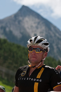 Lance Armstrong was here
