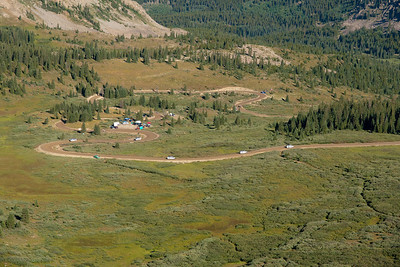Cottonwood Pass before the race