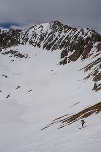 Skiing Miller Time