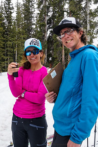 Ben and Megan establishing communications with the other teams and Elk Base