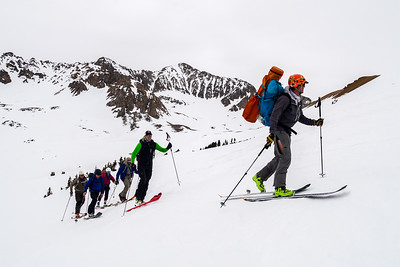Daily commute to Pim's Point and up the ridge to Star Pass