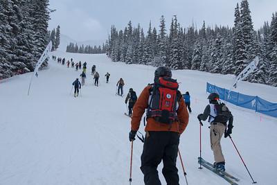 Marmot Grind - Abasin Cosmic Ski Mountaineering Race