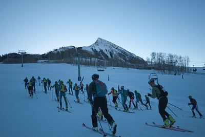 Crested Butte Cosmic Skimo race