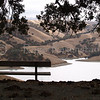 Rest Stop Lake Del Valle Image I.D. #:  V-06-003  This image is available for purchase in the Fine Art Gallery