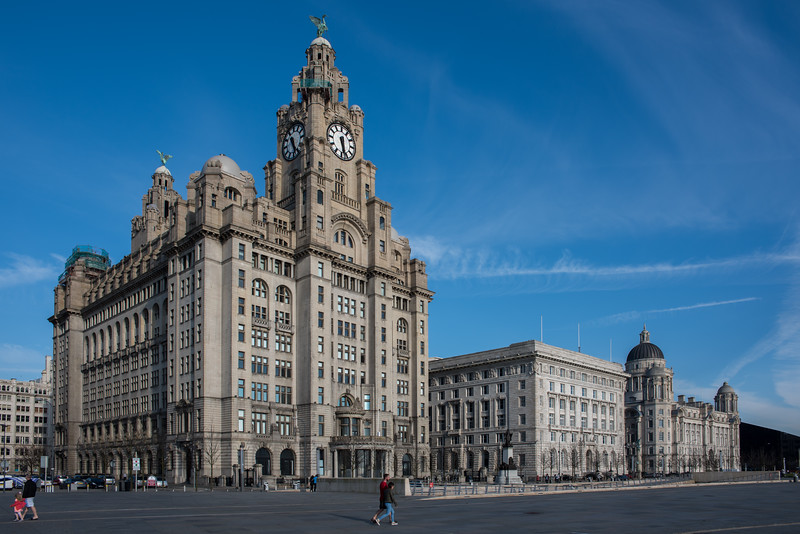 The Three Graces, Pier Head, Liverpool