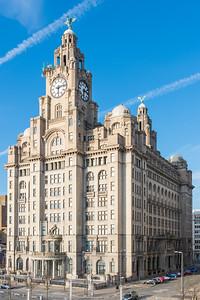Royal Liver Building, Pier Head, Liverpool