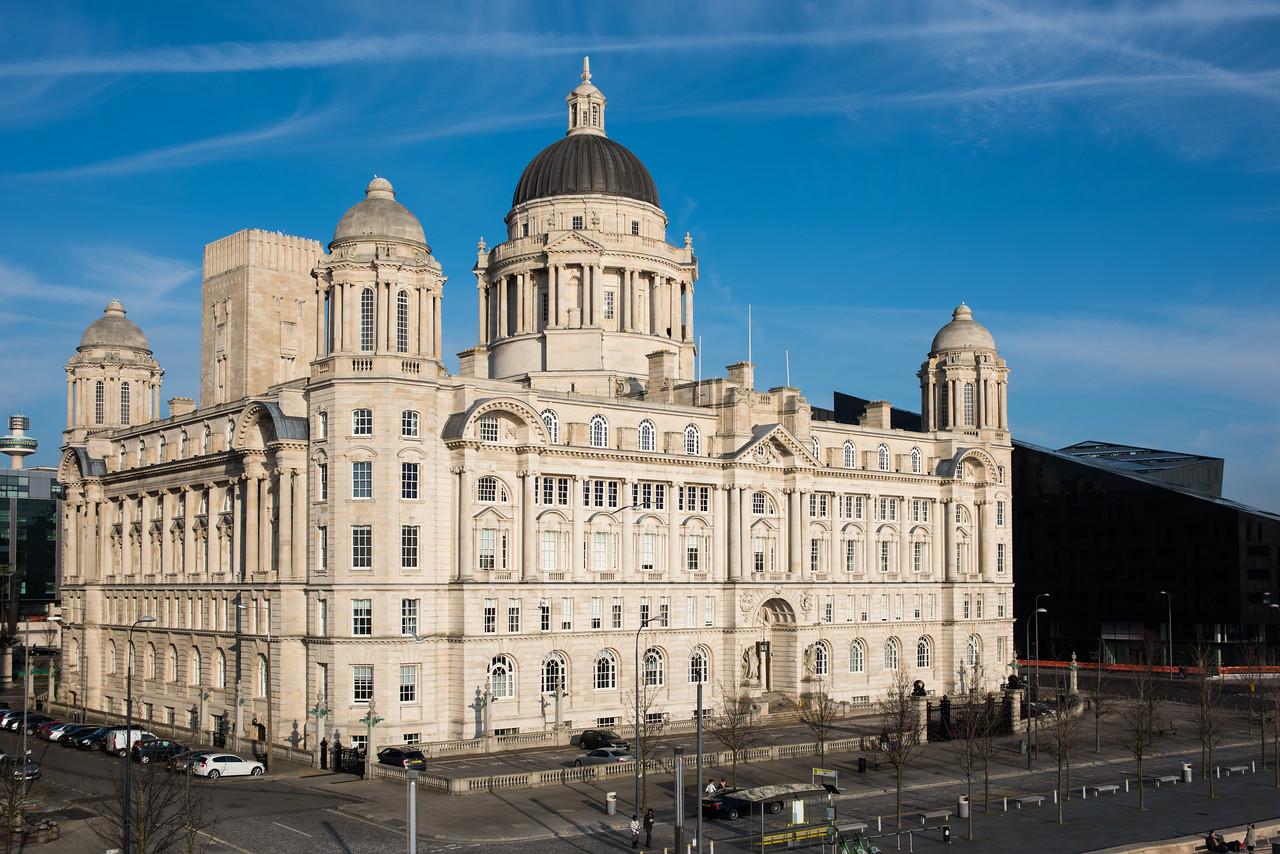 Port of Liverpool Building, Pier Head, Liverpool