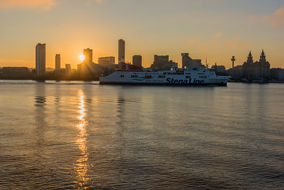 Liverpool Waterfront and the Belfast to Birkenhead Ferry