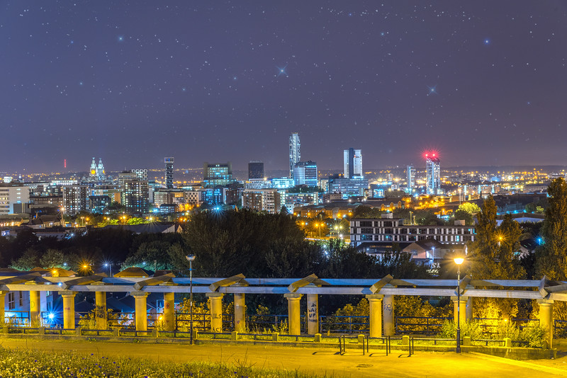 View over Liverpool from Everton Park