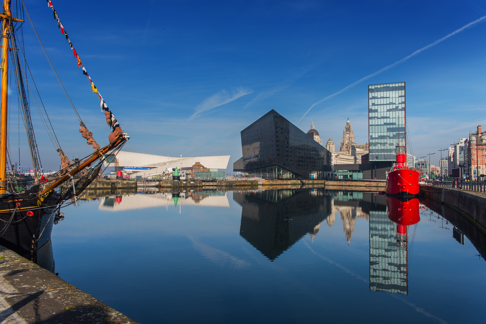 View from Canning Dock, Liverpool