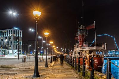 Strand Street, Liverpool at Night
