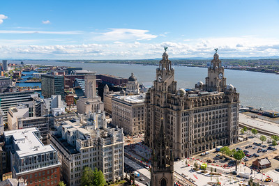 South View of Liverpool Waterfront