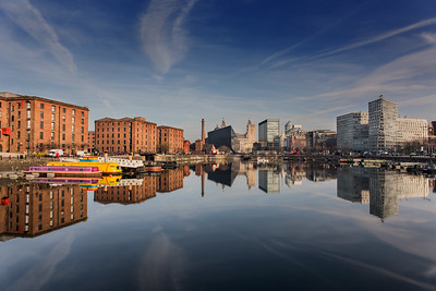 Views from Salthouse Dock, Liverpool