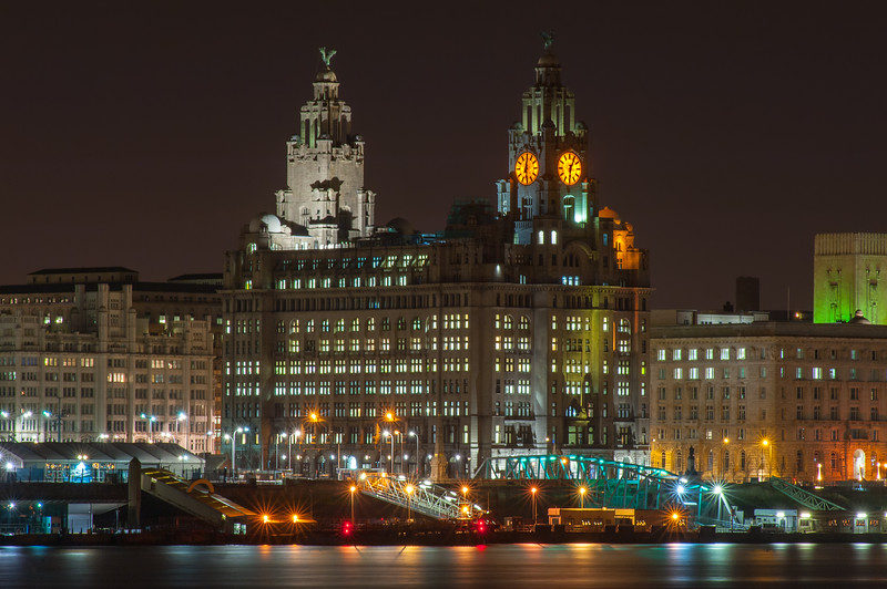 The Royal Liver Building at Night
