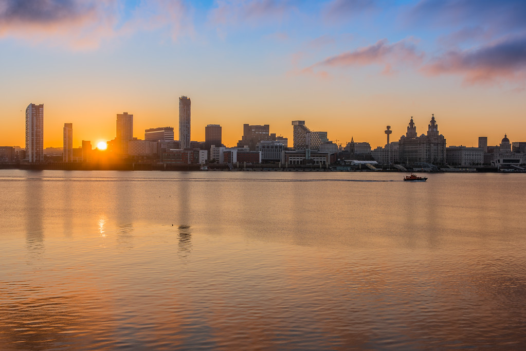 Liverpool Sunrise over the Waterfront