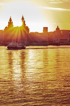 Liverpool Waterfront Sunris