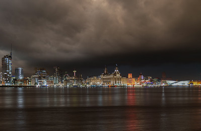 Storm Clouds over Liverpool Waterfront
