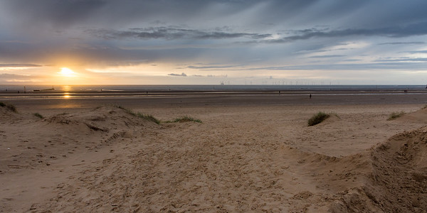 Sunset at #AnotherPlace on #Crosby Sands