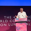 """Confronting Resistance: Fundamentals to Innovations"", The 47th Union World Conference on Lung Health, Liverpool, United Kingdom. Photo shows: Plenary Session Day 2: Tobacco control. E-cigarettes and the future of the tobacco industry: Competition or capture, obsolescence or renewal? Jeff Collin. Photo©Marcus Rose/The Union"