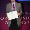 """""""Confronting Resistance: Fundamentals to Innovations"""", The 47th Union World Conference on Lung Health, Liverpool, United Kingdom. Photo shows: Plenary Session Day 2: Andreas Diacon winner 2016 Scientific Prize. Photo©Marcus Rose/The Union"""