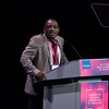 """""""Confronting Resistance: Fundamentals to Innovations"""", The 47th Union World Conference on Lung Health, Liverpool, United Kingdom. Photo shows: incoming President, Dr Jeremiah Chakaya Muhwa at the Closing Session. Photo©Marcus Rose/The Union"""