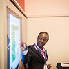The 47th Union World Conference on Lung Health, Liverpool, UK. Post-Graduate course on TB Prevention in Children.<br /> Photo shows speaker Dr Anna Nakanwagi-Mukwaya, Director, The Union Uganda Office. <br /> Photo©Steve Forrest/The Union/Workers' Photos