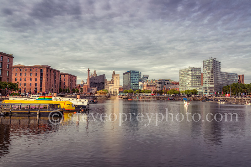 Across Albert Dock