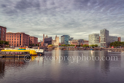 Across Albert Dock