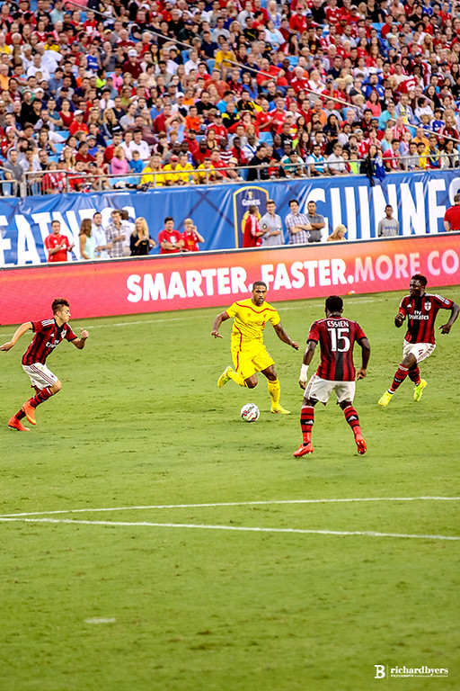 Liverpool vs. AC Milan - August 2, 2014