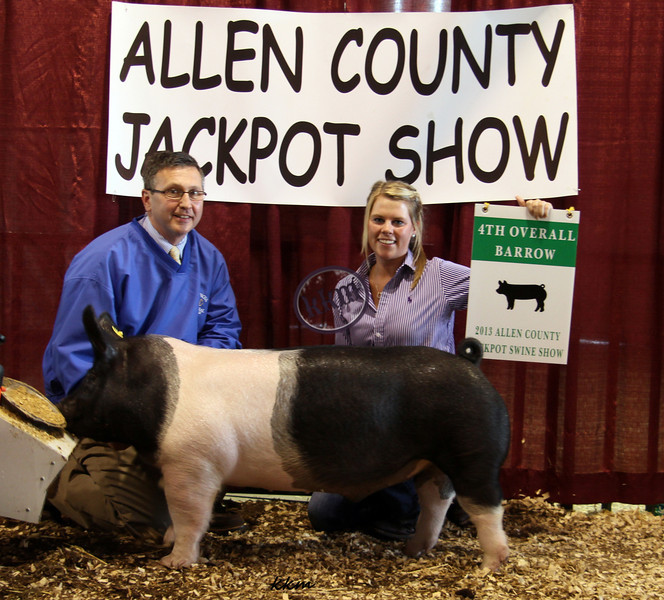 2013 Allen County - 4th Overall Barrow