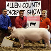 2013 Allen County - Reserve Grand Barrow