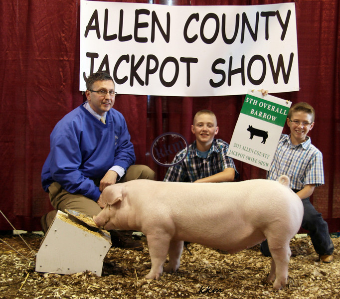 2013 Allen County - 5th Overall Barrow