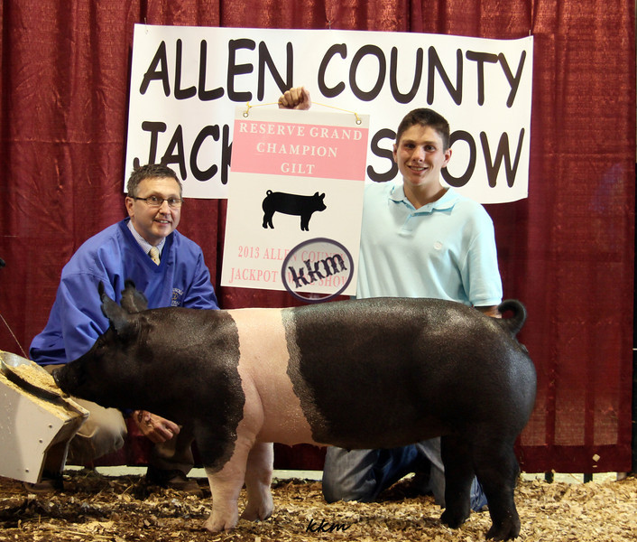 2013 Allen County - Reserve Grand Gilt