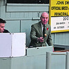 SUCKLED CALVES St Boswells 311012<br /> JACK CLARK in full flow in the auctioneers rostrum Photographer: Niall Robertson.