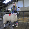 Ten yearold Amy Ayrton winner of the Upland section