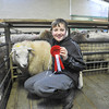 Eleven year old James Baxter winner of the Lowland section