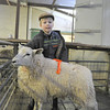 Eight year old Jonathan Ayrton a winner in the Lowland section