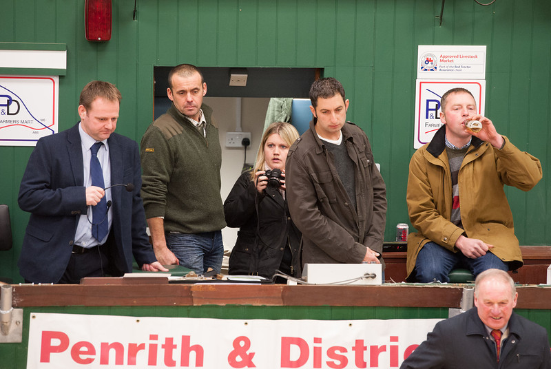 Compare Robert Warton (left)  with the judges (L-R) Martin Relf, Ian Gosforth, and Geoffrey Porter.