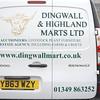 Dingwall Mart 2nd April 14