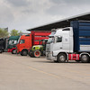 Ashford Market Store Cattle Sale<br /> Transporters ready to move stock away from the market<br /> Picture Tim Scrivener 07850 303986