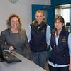 Office staff (L-R) Helen Allen, Flick Mason, and Mary Lancaster.