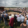 Thame Summer Sheep Fair 2014<br /> North Country Cheviots sold for £146.00 per head<br /> Picture Tim Scrivener 07850 303986