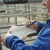 Filling in the forms at Lanark Mart 17th July