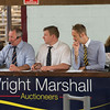 Wright Marshall auctioneer Gwyn Williams.