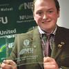 Nicholas Rogers of Upper Heath Farm, Presteigne, Powys was the recipient of the NFU Cymru/NFU Mutual Livestock Champion of the Year Award.