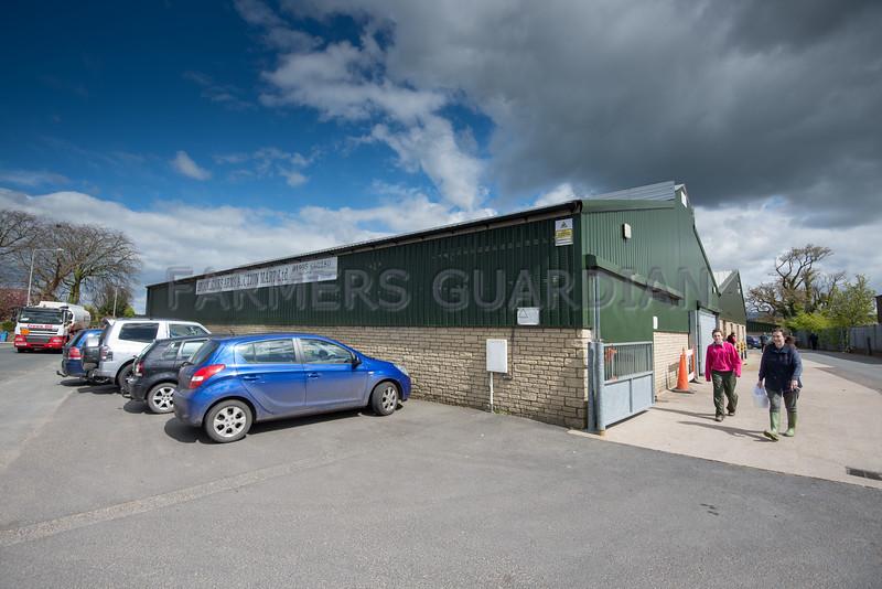 Brockholes Arms Auction Mart.