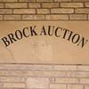 Brock Auction sign.